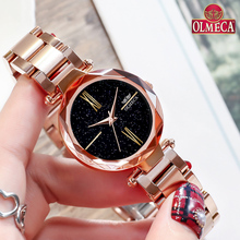 Hot Selling Clock Relogio Feminino Top Brand Luxury Watches OLMECA Women Watch Waterproof Wrist Watch Reloj Mujer Quartz Watch