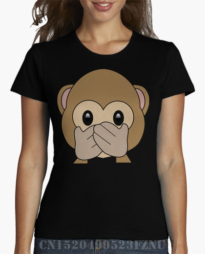 Spring summer Panic buying girl t shirt Monkey Short sleeves Character Cotton funny Hipster Tees
