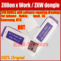 100% original Zillion x Work / ZXW dongle with software repairing drawings For Iphone Nokia Samsung HTC Free Shipping