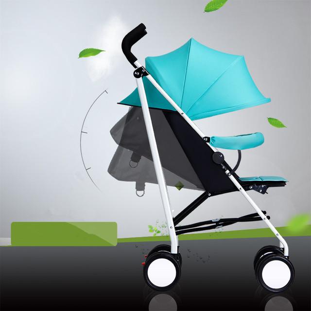V4 alta paisagem carrinho de bebê two-way implementação absorvedor de choque carrinho de bebê