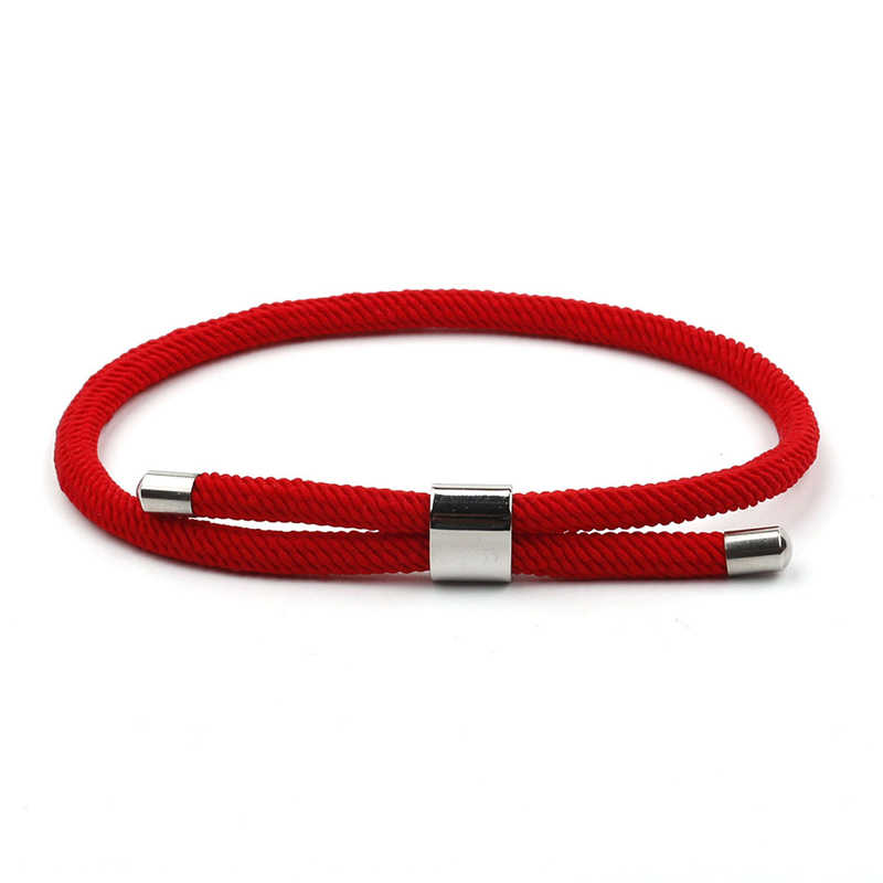 NIUYITID בעבודת יד צמיד חוט אדום קמע נשים צמידי טרנדי 2019 חבל צמיד יד אביזרי Armbandjes גבירות