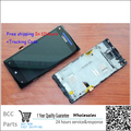 100% Original guarantee For HTC Windows Phone 8X C620e LCD disply+Touch screen Panel Digitizer with frame +best quality