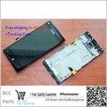 100% original garantia para htc windows phone 8x c620e lcd disply + touch screen painel de digitador com frame + melhor qualidade