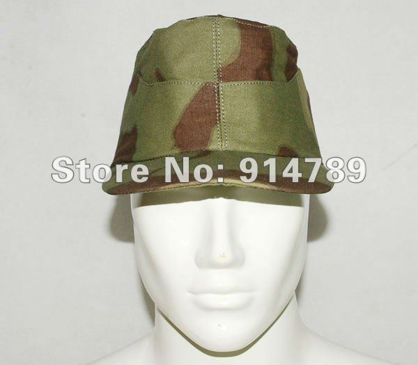 WW2 GERMAN ITALIAN CAMO FIELD CAP SIZE XL 31208