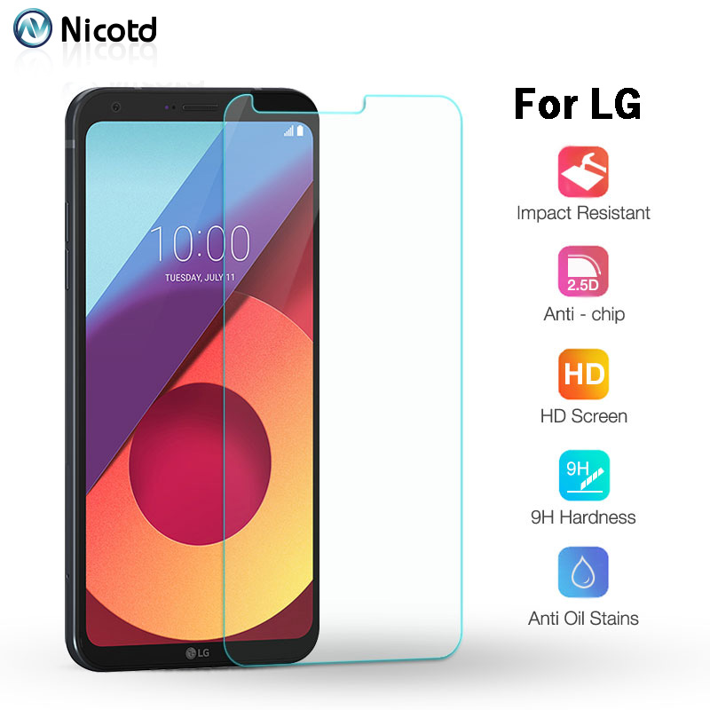 Hardness Screen Protector Glass For LG V20 G6 Q6 Explosion-proof Tempered Glass For LG K10 K8 G5 G4 D337 9H Protective 2.5D Film (7)