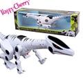 Счастливые Вишня Дети Дети Дошкольного Здорово Весело Свет Музыкальный Робот Модели Динозавров Животных, Игрушки