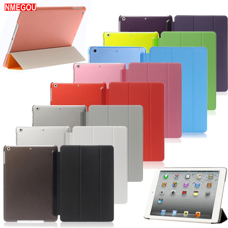 Luxury Tablet Shockproof Smart Leather Stand Case Cover For Apple IPad 9.7 Inch 2017 2018 I Pad 5 Air 1 Protection Coque Etui