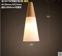 Mordern LED Wood Pendant Light Fixtures With Lampshade For Living Room Wood Lamp,Lustres Pendente De Teto