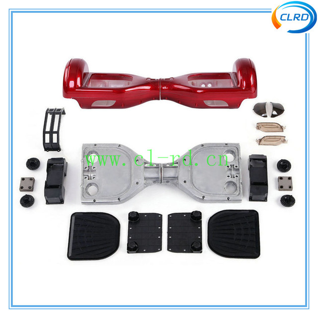 plastic cover outer shell for smart scooter 6.5 inch self balancing scooter plastic housing