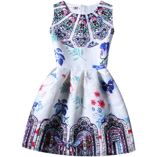 6 20T Plus Size Girls Dresses,Girls Summer Casual Princess Dresses ...