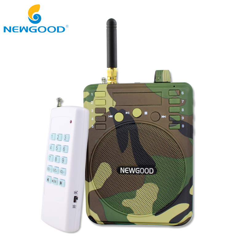 150Db 1000M Remote control Hunting Speakers USB MP3 Bird Caller Duck Decoy Animal Bird Sound Calls Hunting TF USB Mp3 NEWGOOD outdoor hunting decoy speaker radiator duck call mp3 sounds hunting bird caller hunting bird speaker with remote control