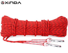 XINDA 10M Paracord Rock Climbing Outdoor Hiking Safety Rope 8mm Diameter 9KN High Strength Cord Camping Equipment