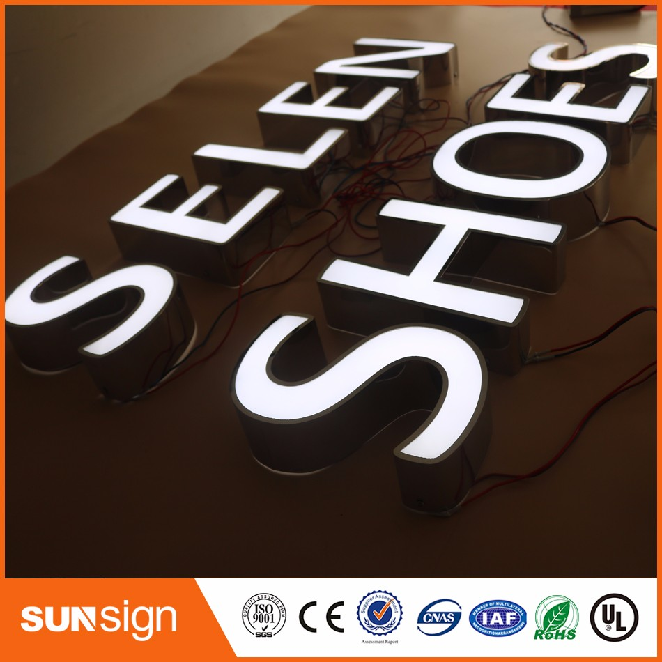 Frontlit Channel Letters, LED Letters, Outdoor Frontlit Letter
