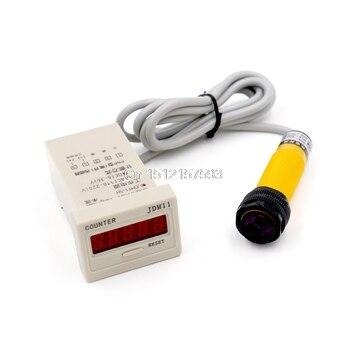 DC 3 de 6-36V PNP IR interruptor de sensor fotoeléctrico 30cm E18-B03P1 lucha