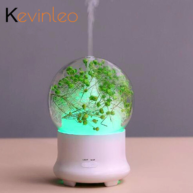 Aroma Humidifier Clean Air Eternal Flowers Valentine's Creative Christmas Gift Good Meaning High Quality Can Add Essential Oil