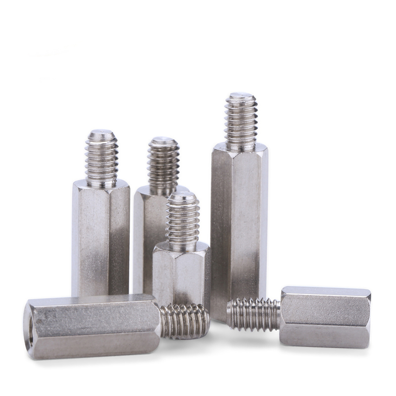 Hex Carbon Steel Male Female Standoff Stud Board Pillar Hexagon Threaded PC Computer PCB Motherboard Spacer Bolt Screw M3 M4 in Screws from Home Improvement