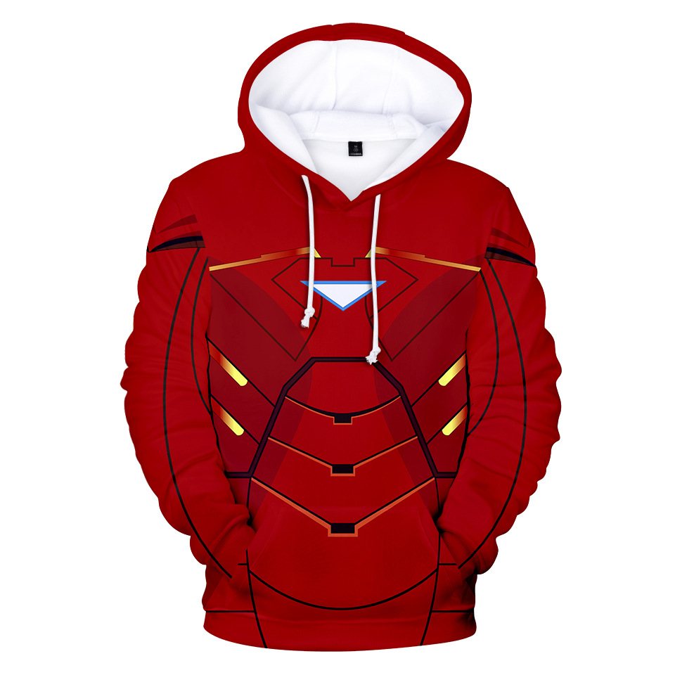 Spiderman 2099 Spider-Man: Far From Home 3D Anime Hoodie Sweatshirt Women/men Red Black Spider Man Superhero Cosplay Jacket