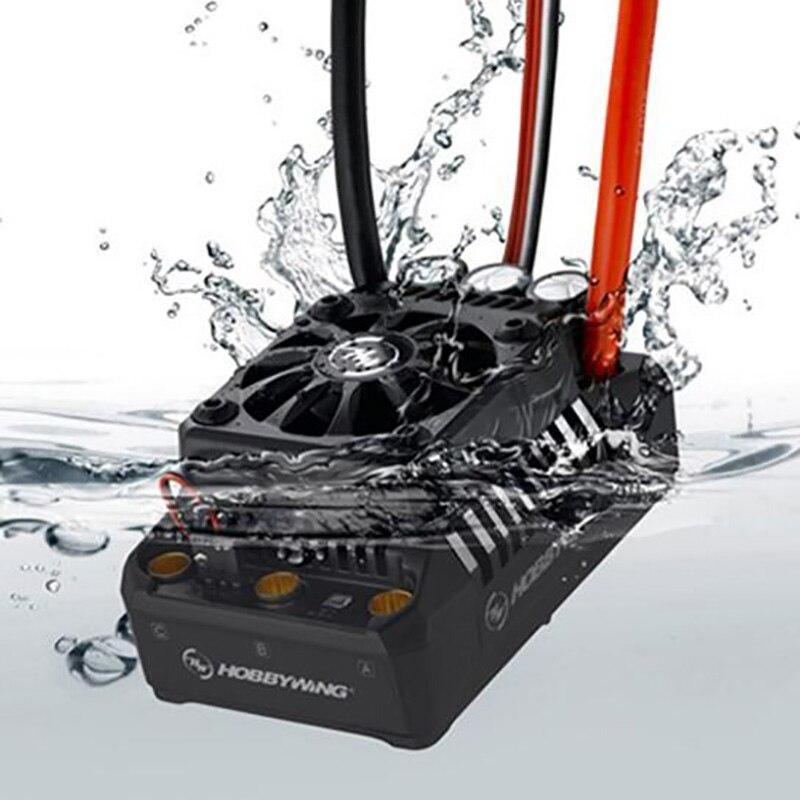Hobbywing EzRun Max6 V3 160A rc car ESC regulator prędkości wodoodporny bezszczotkowy ESC dla 1/6 1/7 1/8 RC Car w Części i akcesoria od Zabawki i hobby na  Grupa 1
