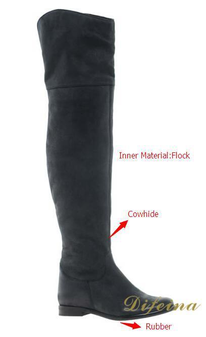 Popular Long Black Flat Boots-Buy Cheap Long Black Flat Boots lots ...