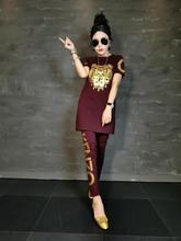 2016 new women s fashion casual font b suit b font big yards Plus size short