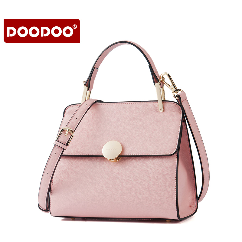 DOODOO Women Genuine Leather Handbags Patent Tassel Women's Messenger Shoulder Bags European Fold Style Bolsa Femininas new C158