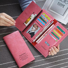 New hot sales Womens fashion Purses Young lady big capacity Long Wallets females PU Leather clutch bags Cards Holder wallet A39
