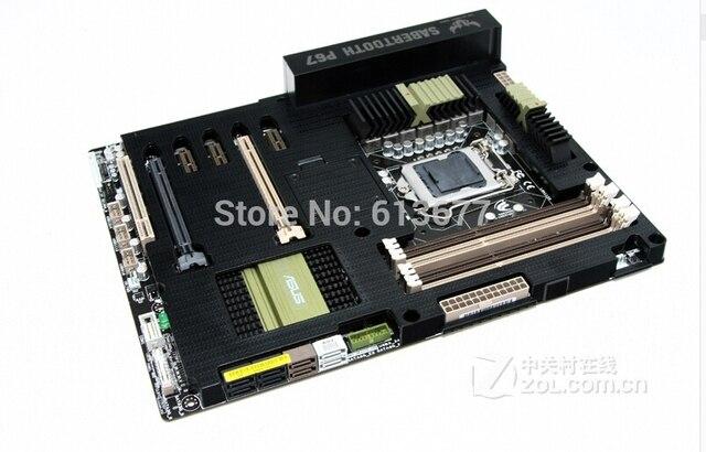 Motherboard original para SaberTooth P67 LGA 1155 DDR3 32 GB para i3 i5 i7 P67 Escritorio motherborad Envío gratis