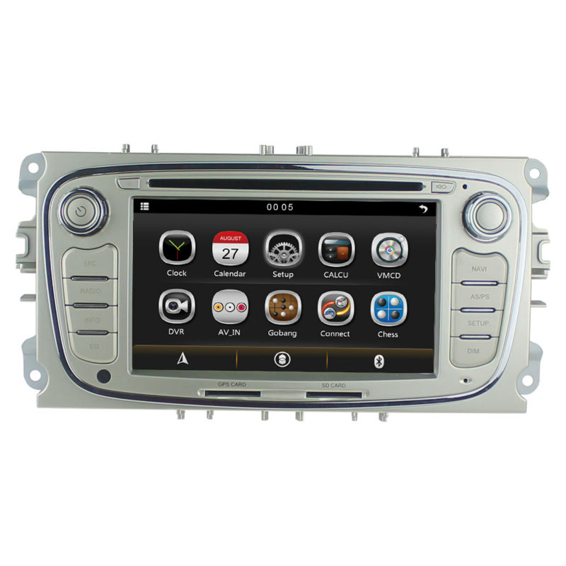 car autoradio dvd gps for ford focus 2 mondeo s max connect 2008 2011 with rds dual zone. Black Bedroom Furniture Sets. Home Design Ideas