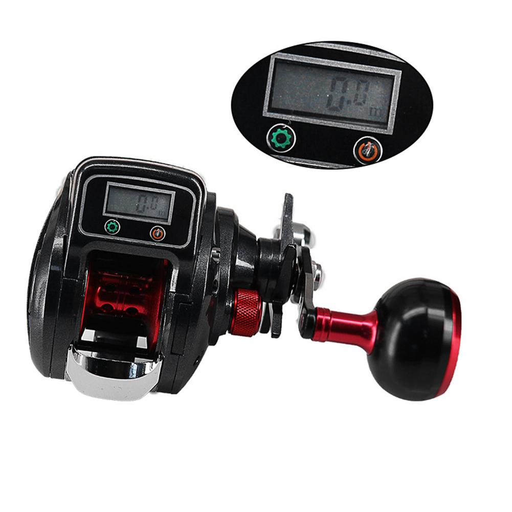 NEW 16 1 Ball Bearing 6 3 1 Left Right Baitcasting Fishing Reel with Digital Display
