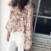 OFTBUY 2017 fashion summer tops floral print sleeveless plus size backless bandage tunic sexy bralette crop top women cropped