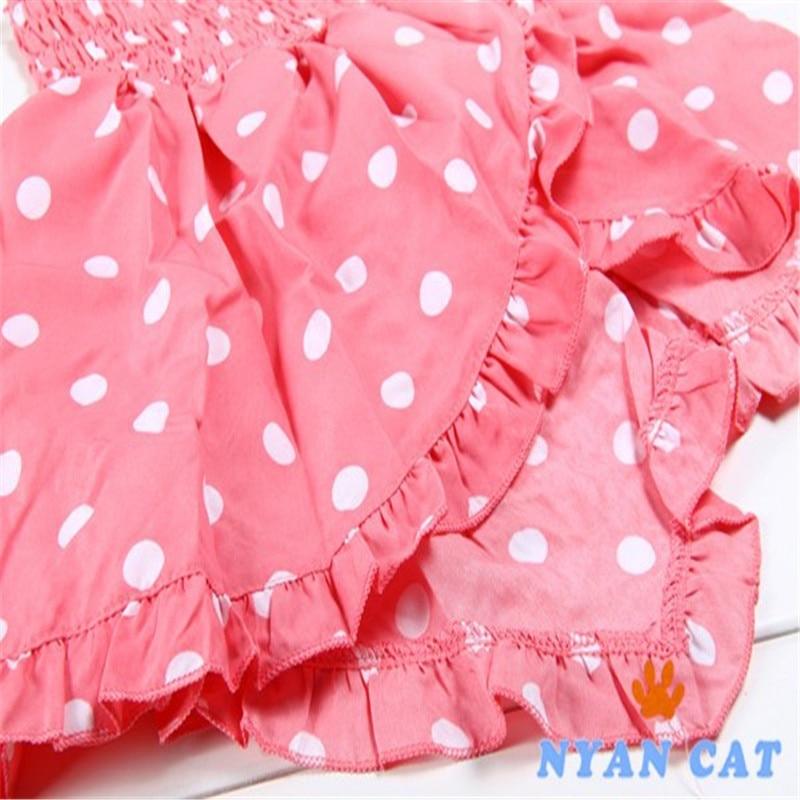 3cd6bd2399ed Baby Girls Clothing Set Summer Newborn Polka Dot Outfit Costume Baby ...