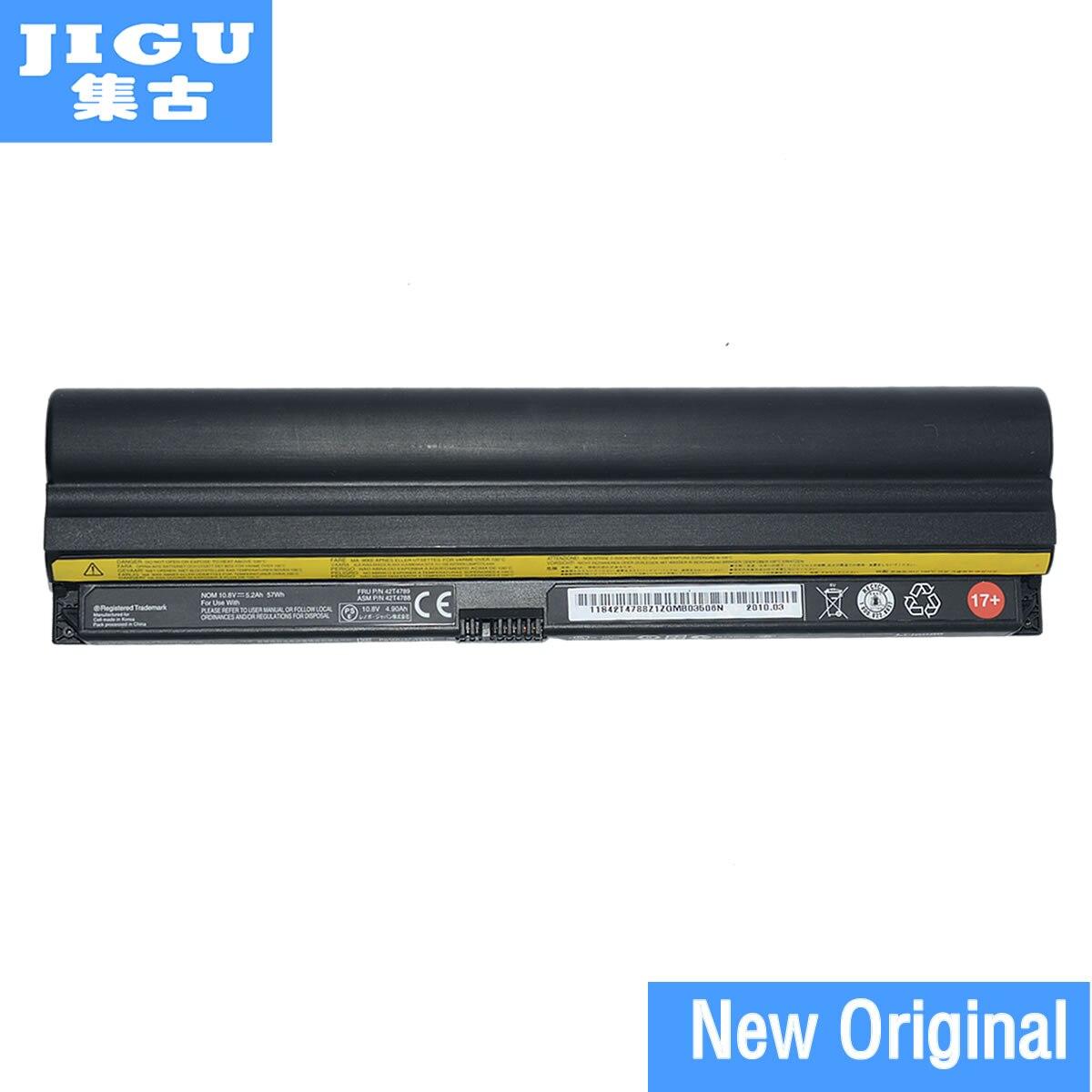 JIGU Original laptop Battery For LENOVO for ThinkPad Edge 11 E10 mini 10 X100e X120e 10.8V 57WH 6CELLS