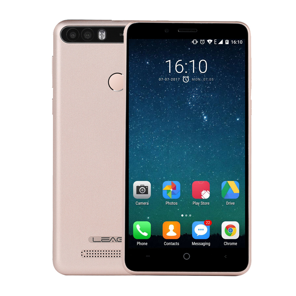 LEAGOO KIICAA POWER 5 0 Android 7 0 Smartphone MTK6580A Quad Core 2GB 16GB 8MP Fingerprint
