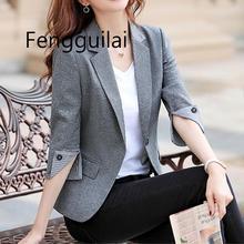 Женская мода темперамент пиджак 2019 новая весна и осень для похудения профессиональный темперамент