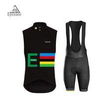3 flag version of the sleeveless bike clothing / 2017Eyessee high quality breathable sleeveless clothing Italy bicycle clothing