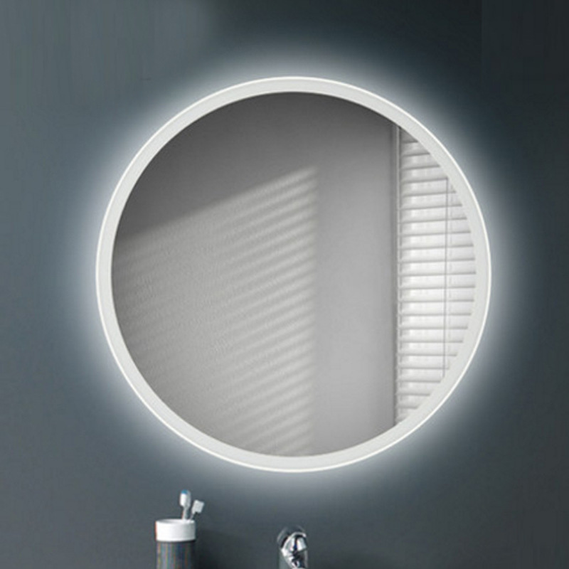 Bathroom LED light mirror Wall hanging wall washbasin toilet wash mirror hanging bathroom mirror bathroom LO6111022