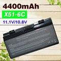 4400 мАч аккумулятор для ноутбука Asus A32-X51 90-NQK1B1000Y A32-T12 T12Fg T12Ug X51C X51H X51L X51R X51RL