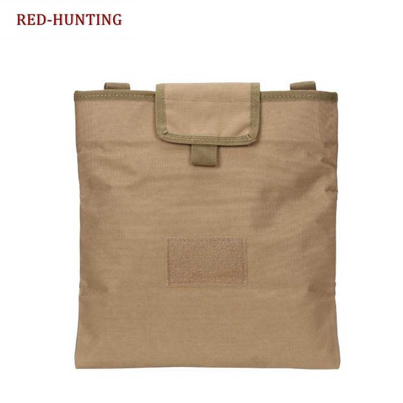 Large Airsoft Foldable Pouch Bag Tactical Magazine DUMP Ammo Drop Utility Pouch Bag