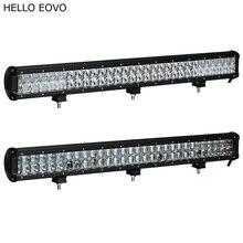 Hello eovo 4D 5D 28 дюймов 300 Вт светодиодные панели для работы индикаторы для вождения Offroad Лодка автомобиль тягач 4×4 внедорожник ATV 12 В 24 В
