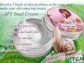 Afy caracol crema hidratante para blanquear crema rostro anti acné anti arrugas crema facial extrafino envío gratis cuidado de la piel
