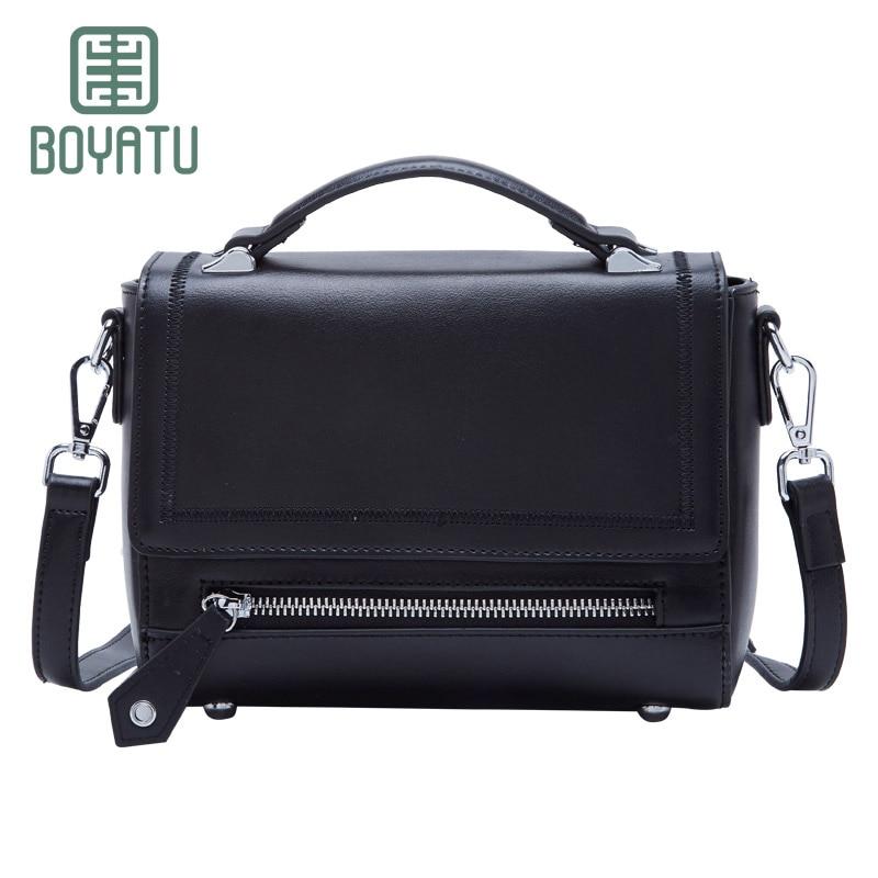 BOYATU  England Retro Handbag Messenger Bag Classical New Bag Gift Fow Women new england textiles in the nineteenth century – profits