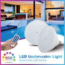 PAR38 Swimming pool light  300w replacement by 35W LED bulb RGB color changing IP68 underwater  wireless remote control