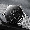 Мужские часы от бренда CADISEN  роскошные часы с автоматической датой  повседневные модные водонепроницаемые механические наручные часы из не...