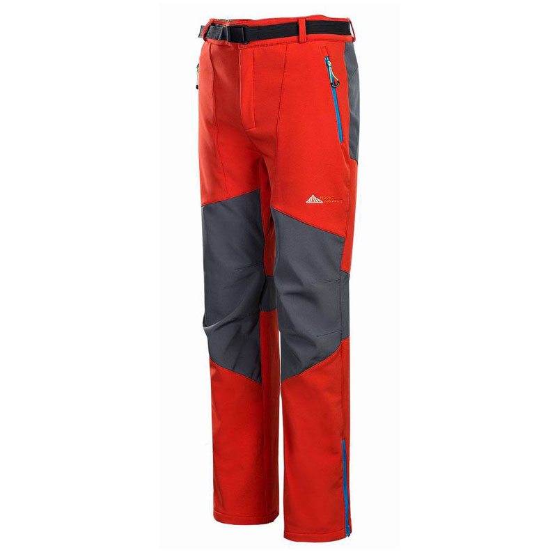 2017 Spring-Autumn Men's Pants Soft shell Fishing Breathable Thermal Waterproof Camping pants Fleece Outdoor Hiking Pants outdoor men s winter fleece snowboard pants soft shell windproof waterproof breathable hiking hunting skinng camping pants
