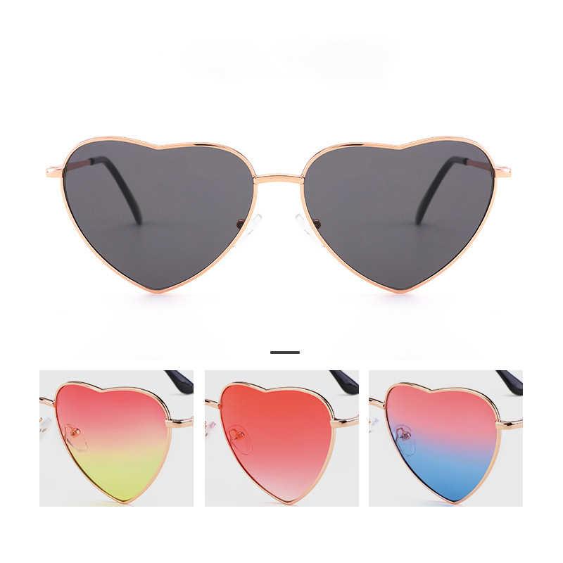 20879f8ee9aa ... DIGUYAO Women Metal Multicolour Metal Frame Sunglasses Brand Designer  Coating Fashion Sun Glasses Heart Shaped Sunglasses