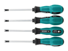 4 pcs/lot! Magnetic U-shaped Groove Fork precision screwdriver and H Fork Type Screw Batch of Screwdriver