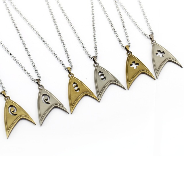 Star Trek Necklace Scientific Engineering Pendant New Fashion Necklaces Cool Teenagers Gift Movie Jewelry Accessories YS12026