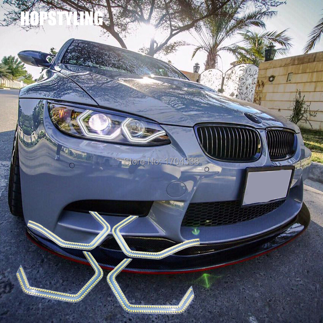 Hopstyling 4x Tres Cool Smd Led Yeux D Ange Pour Bmw F30 3 Series