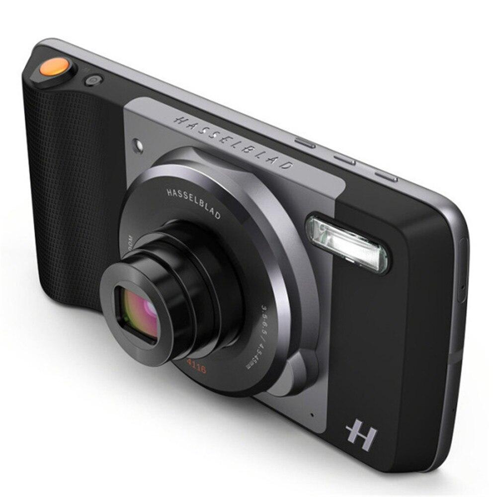 MOTO Hasselblad vrai Zoom Mods 12MP caméra facile à utiliser avec Support de Flash xénon Zoom optique pour MOTO Z2 FORCE/Z2 PLAY/Z3