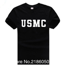 bccd4f9e1a Summer US Army Navy Air Force USAF Marines USMC Military Physical PT T Shirt  Men Funny